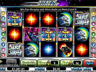 Silver Surfer slot game online review