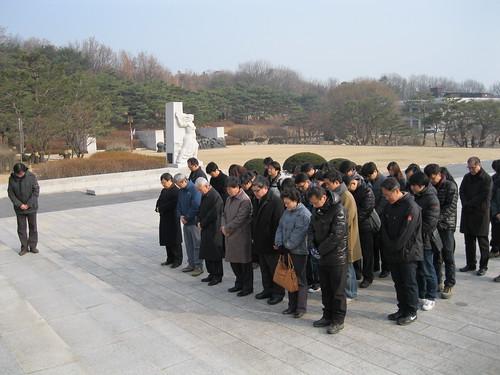 2012년 시무식, 임직원 4.19국립묘지참배