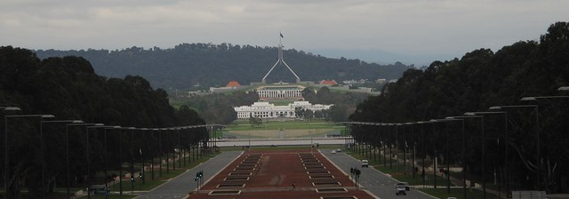 Parliament houses in alignment