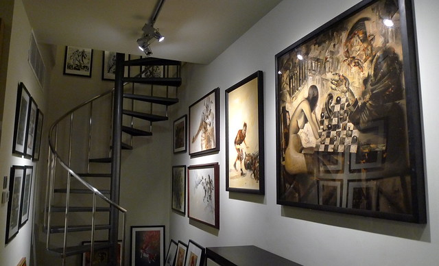 Art and stairs