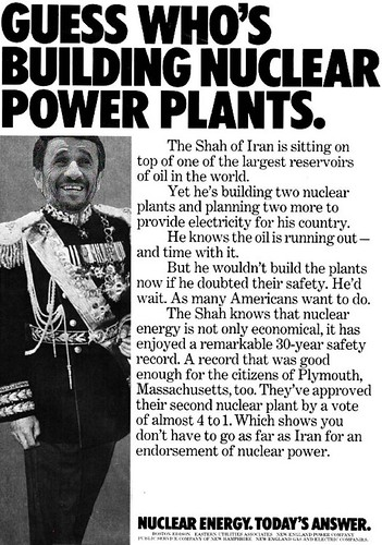 THE NUCLEAR SHAH by Colonel Flick
