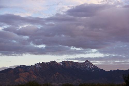 arizona sky usa cloud snow color scenic santaritamountains