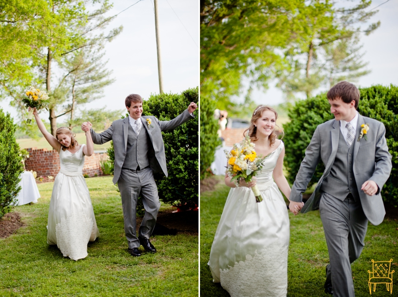 gray and yellow outdoor vintage wedding_068