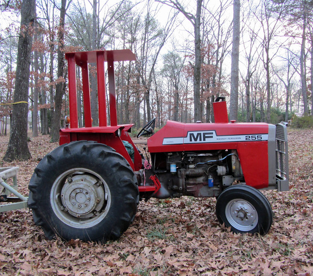 tractor so much depends upon a red tractor sitting in leav flickr photo sharing. Black Bedroom Furniture Sets. Home Design Ideas