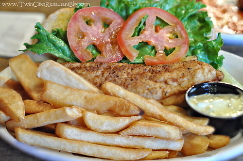 Walleye Sandwich with Fries at Jethros Char House ~ Mahtomedi, MN