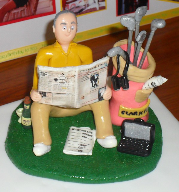 Golfer Dads 70th Birthday Cake Toppers  Flickr - Photo Sharing!