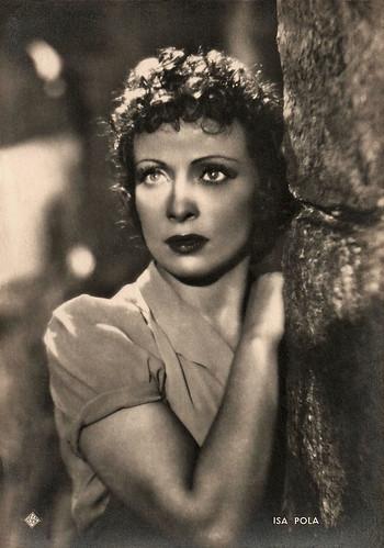Isa Pola in Una signora dell'ovest (1942)