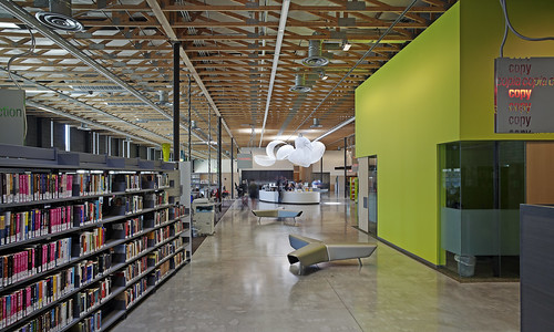 Agave Library Inside