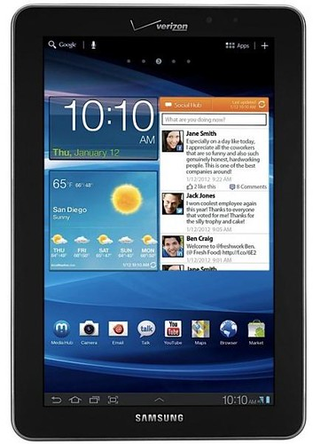 Verizon Galaxy Tab 7.7 LTE