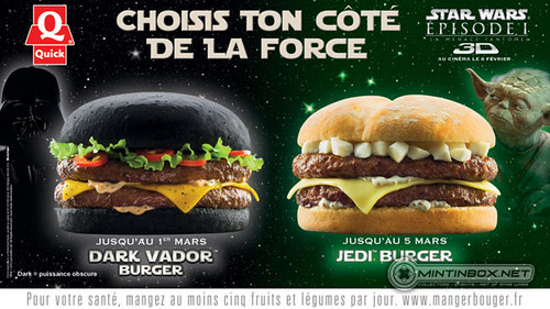 geek burger from Belgium....