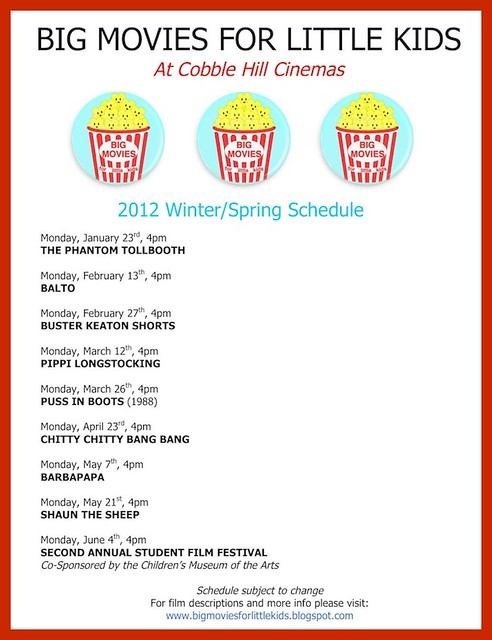 2012 Winter_Spring schedule