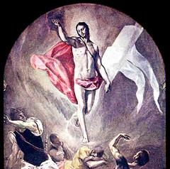 El Greco (1577), Cristo resucitado