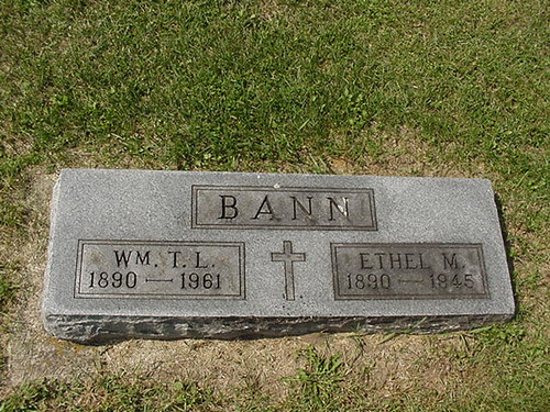 William and Ethel (Wicker) Bann