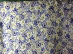 Kokka Trefle Japanese Purple Floral Cotton
