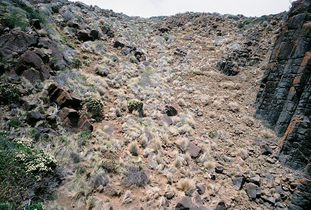 hillslide