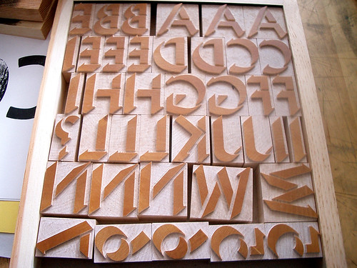 Rob Roy Kelly American Wood Type