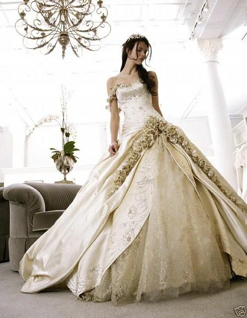 explore designer wedding dresses