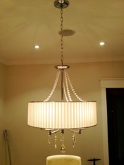 decor, lamp, light fixture, lampshade, ceiling, chandelier, lighting,