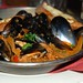 Penn Cove Mejillones- Mussels with Peppers, Onion, Smoked Garlic, Linquica Sausage