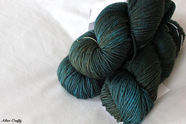 MadTosh Vintage - Turquoise Group