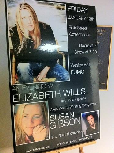 Elizabeth Wills Susan Gibson Poster