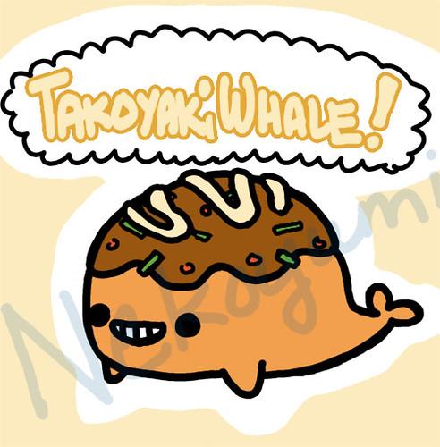 takoyaki whale