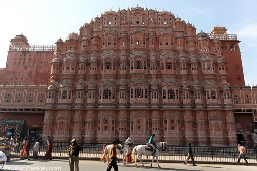 Stunning facade, Palace of the Winds