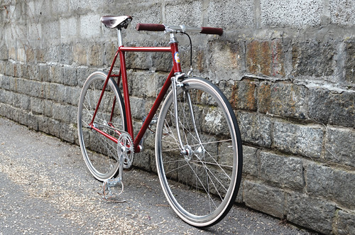 Fixie bike - Custom Built Fixed Gear Pinarello bicycle by Whitelander