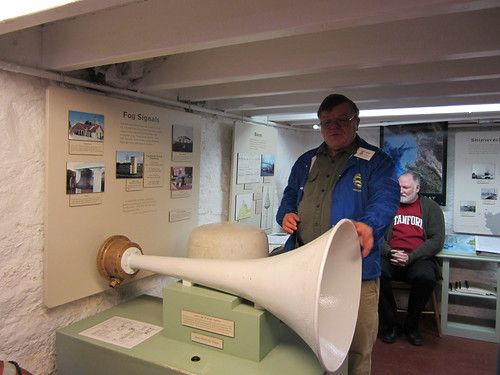 Harry Powell talks about the fog horn