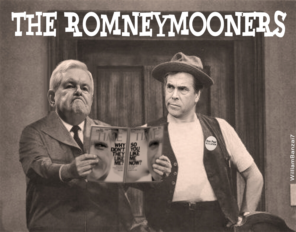 AND NOW FOR TONIGHT'S EPISODE OF...THE ROMNEYMOONERS