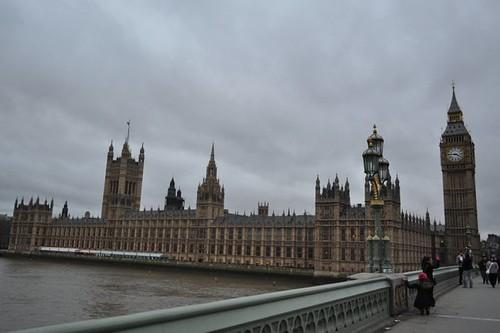 Big Ben y Parliament desde el puente Westminster