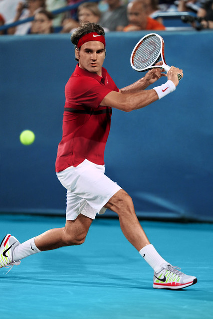 Roger Federer Nike outfit