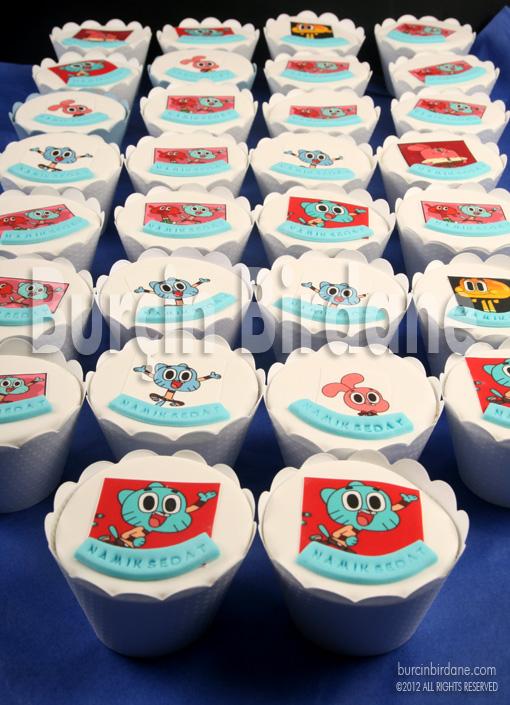 Gumball Cupcake