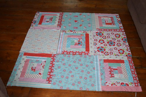 Log Cabin Quilt Blocks 1