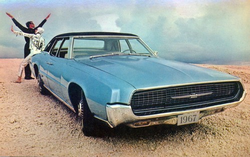 1967 Ford Thunderbird Landau 4 Door Sedan
