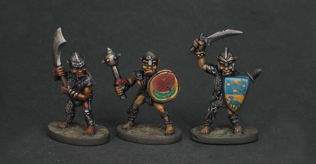 Grenadier Dragon Lords Goblin Warriors