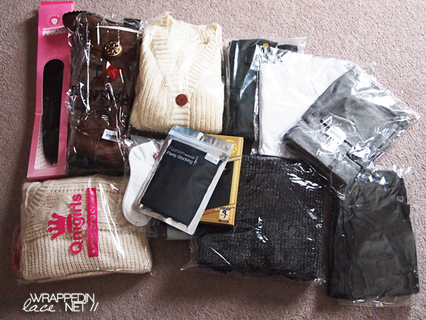 Wrapped in Knit (Korean Shopping Sites Haul) Part I
