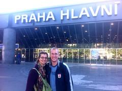 Arrival in PRAHA