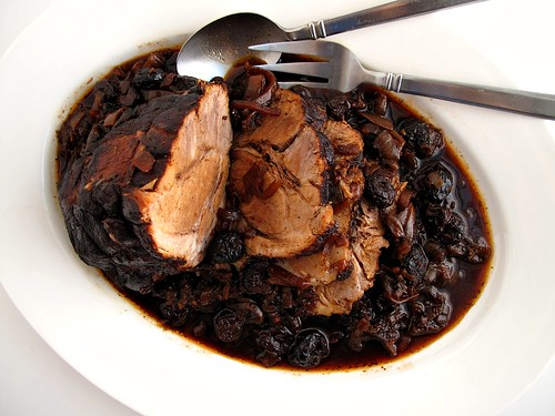 cola-braised pork shoulder