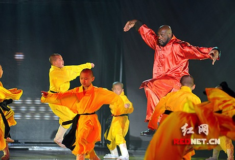 January 14th, 2012 - Shaquille O'Neal participate the taping of a China Lunar New Year special