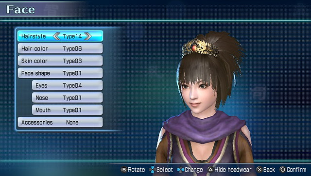 Dynasty Warriors Next Character Customization (3)