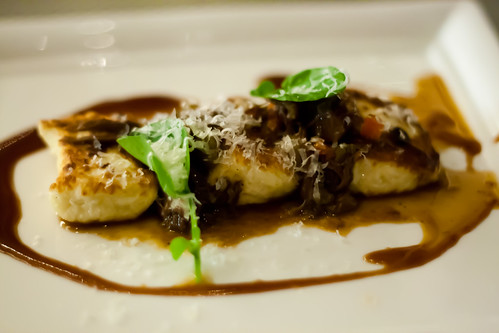 Homemade Ricotta Gnocchi, Braised Organic Oxtail at Habitat