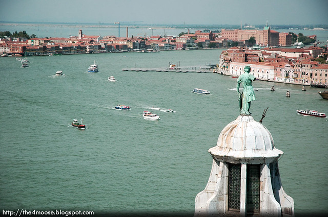 San Giorgio Maggiore - View from the Campanile Tower