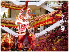 Gigantic dragon at the atrium of Pavilion KL, to usher in the Lunar New Year 2012 #3/4