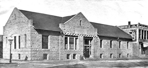 Winfield Kansas YMCA building