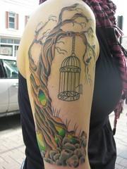 Evil Tree Tattoo 1