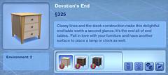 Devotion's End