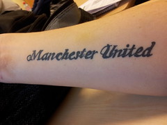 My Man Utd-tattoo