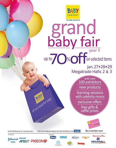 SM Baby Company Grand Fair Poster