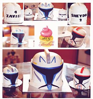 Clone Trooper Cake by Cake Maniac